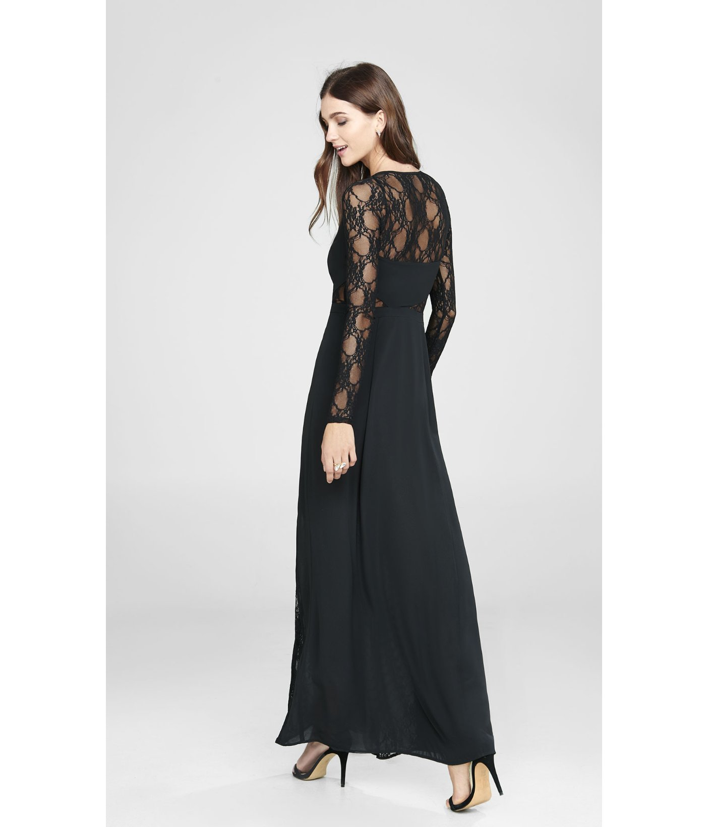 Long dress express clothing