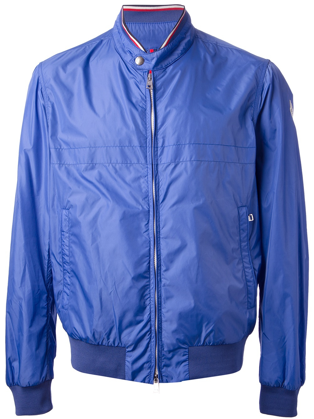 Blue Windbreaker Jacket Fit Jacket