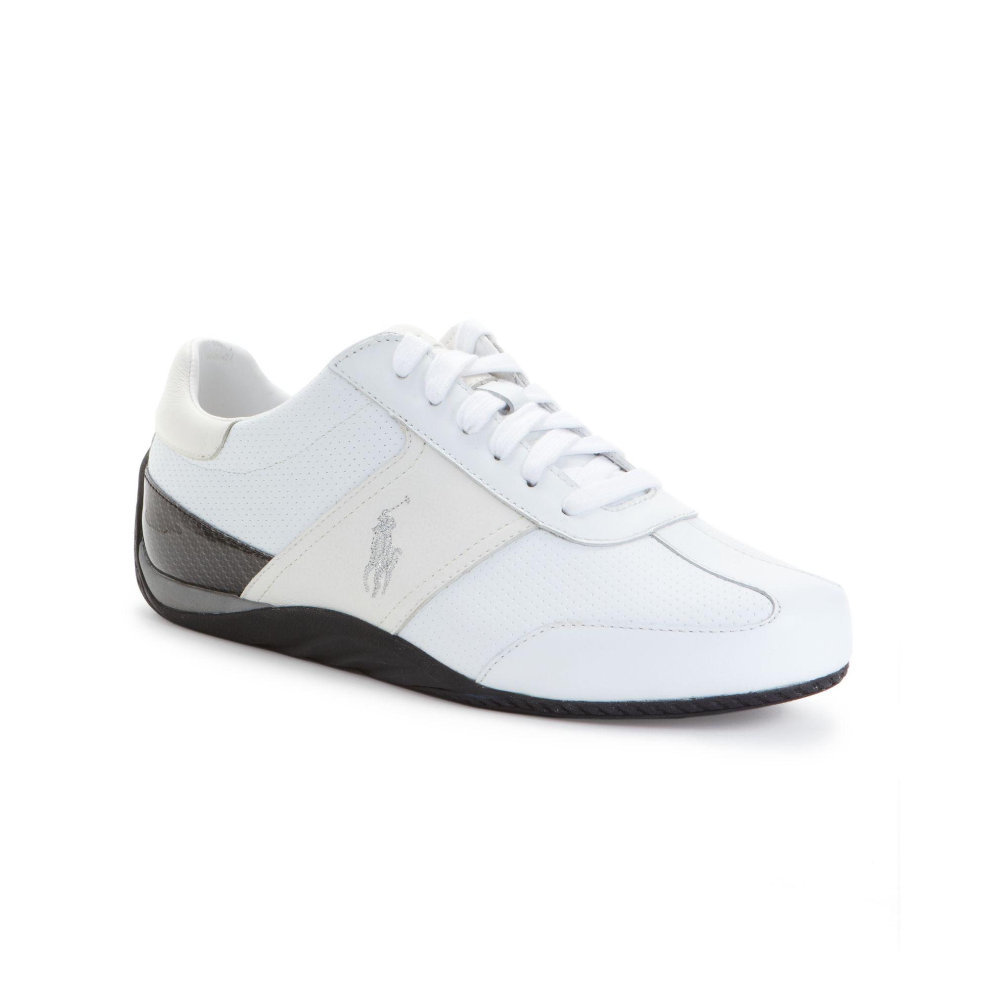 ralph lauren bentwinds sneakers in white for men lyst. Black Bedroom Furniture Sets. Home Design Ideas