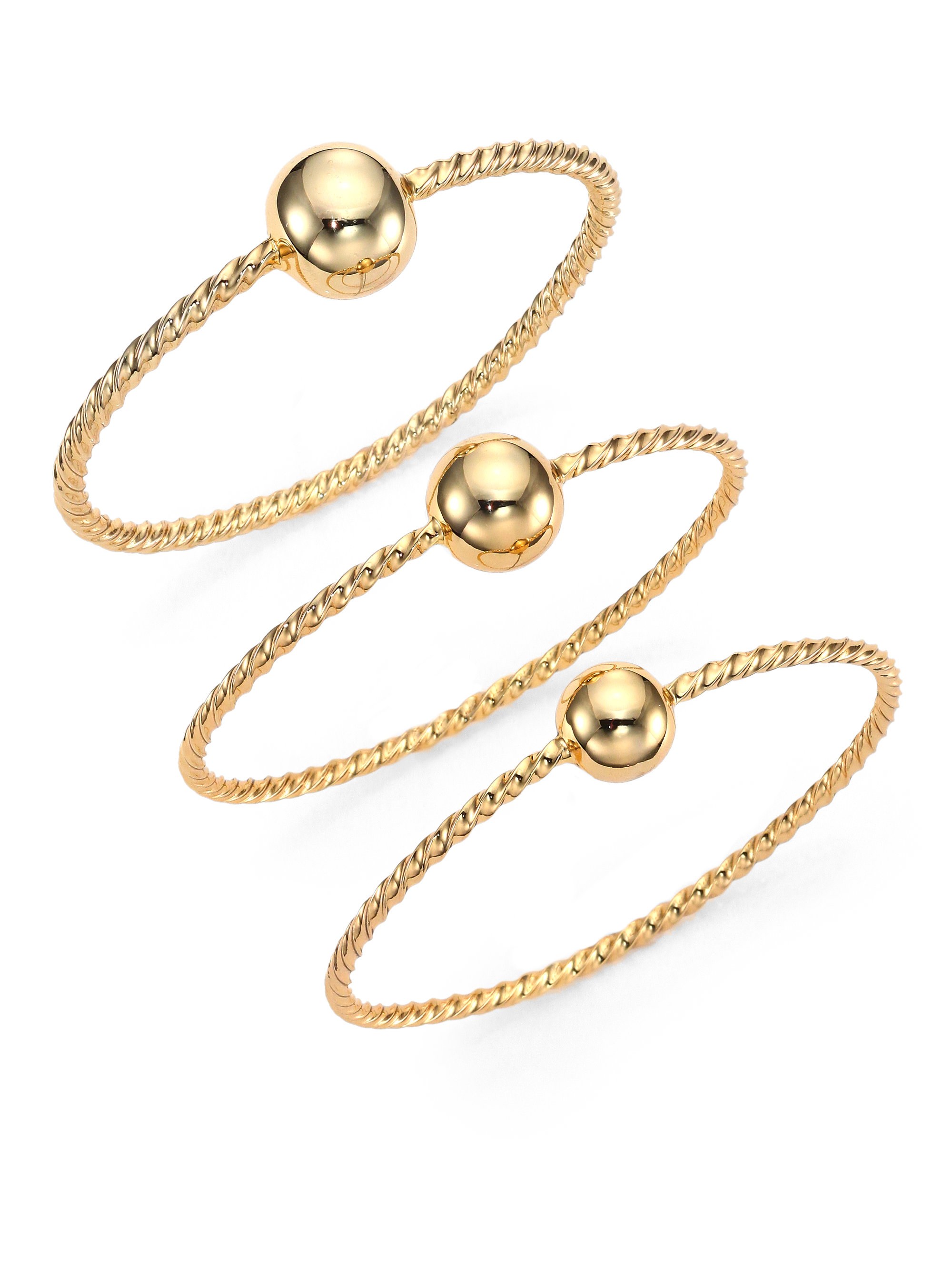 dp twist bangles sterling and com amazon ball jewelry bracelet solid royal cuff silver twisted gold unique