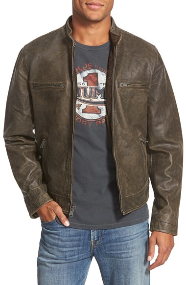 Boss Leather Jacket