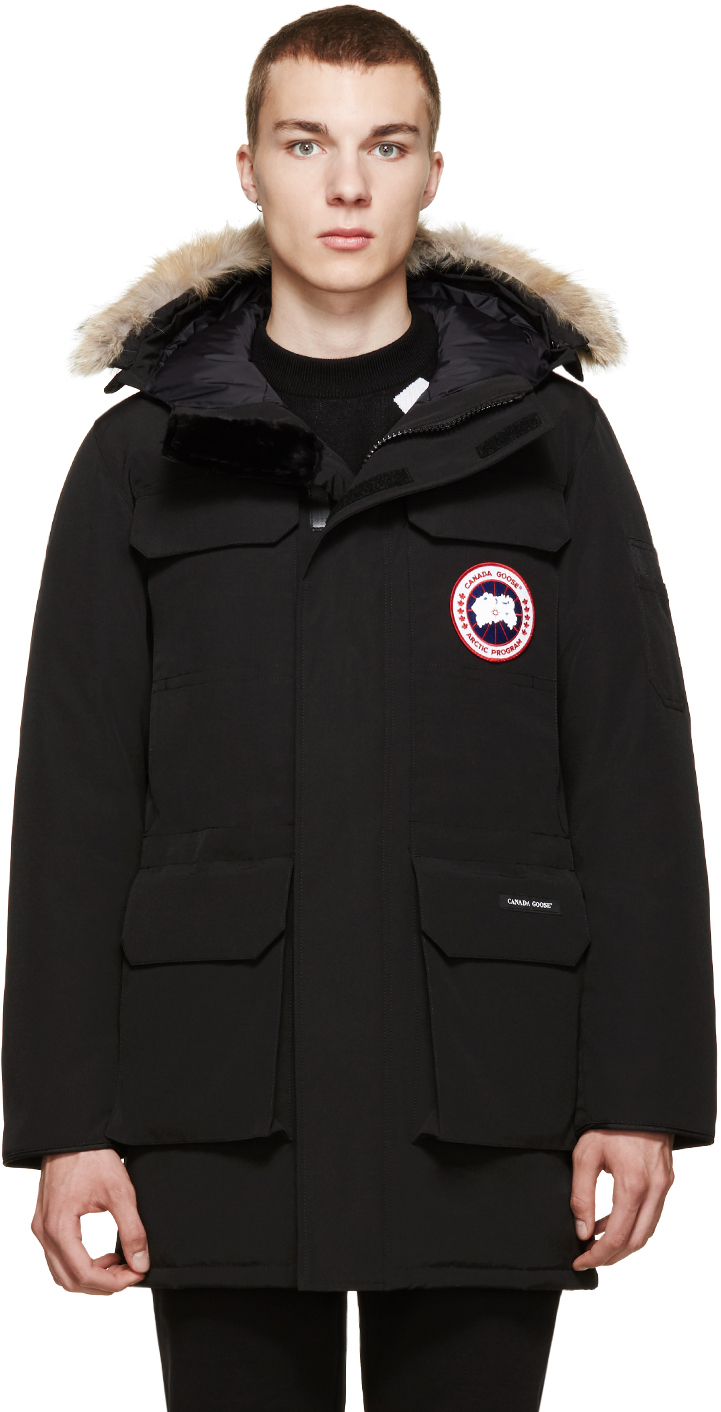 Canada Goose trillium parka online fake - Canada goose Black Citadel Parka in Black for Men | Lyst