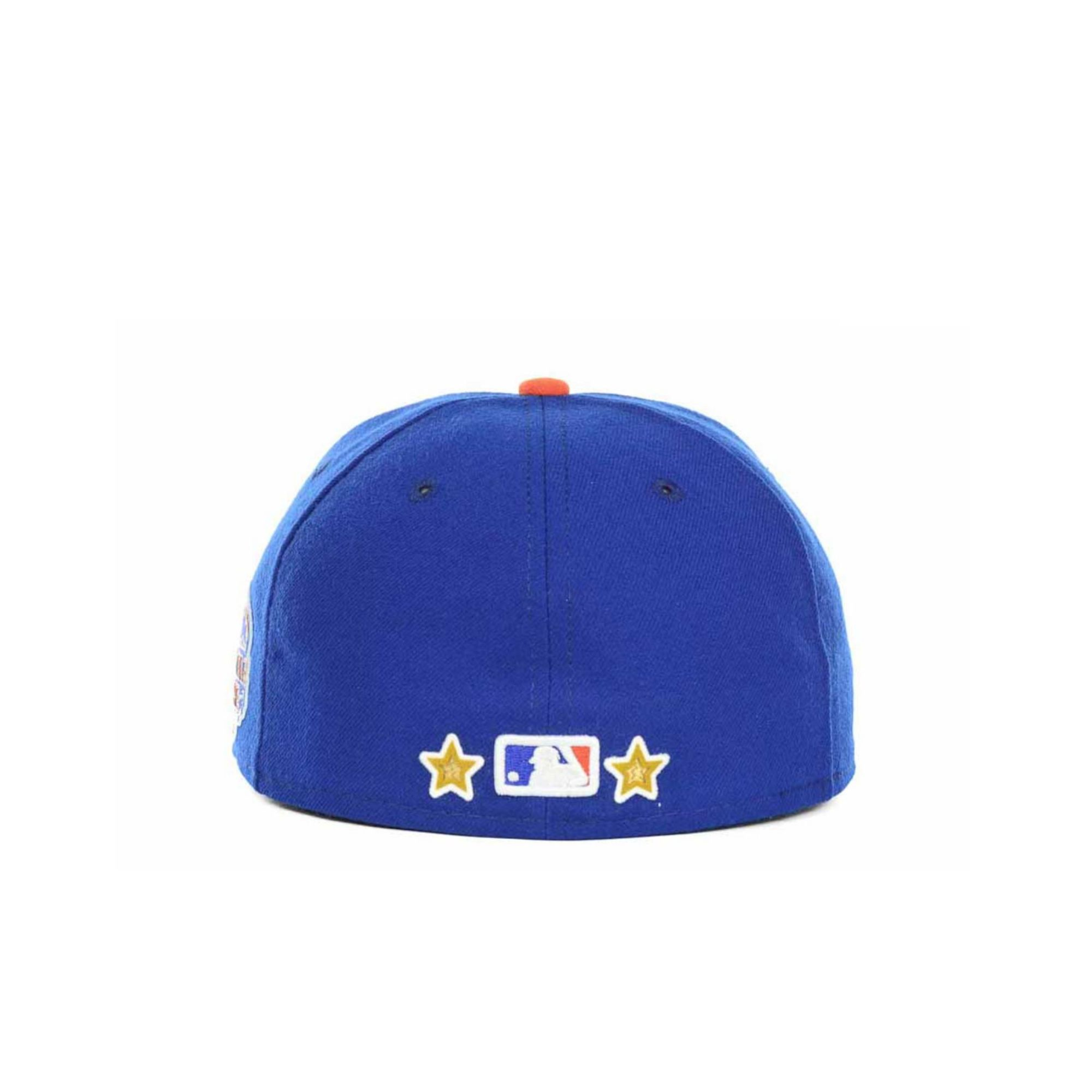size 40 5a0bc 8d29f ... cheap lyst ktz new york mets mlb all star patch 59fifty cap in blue for  men