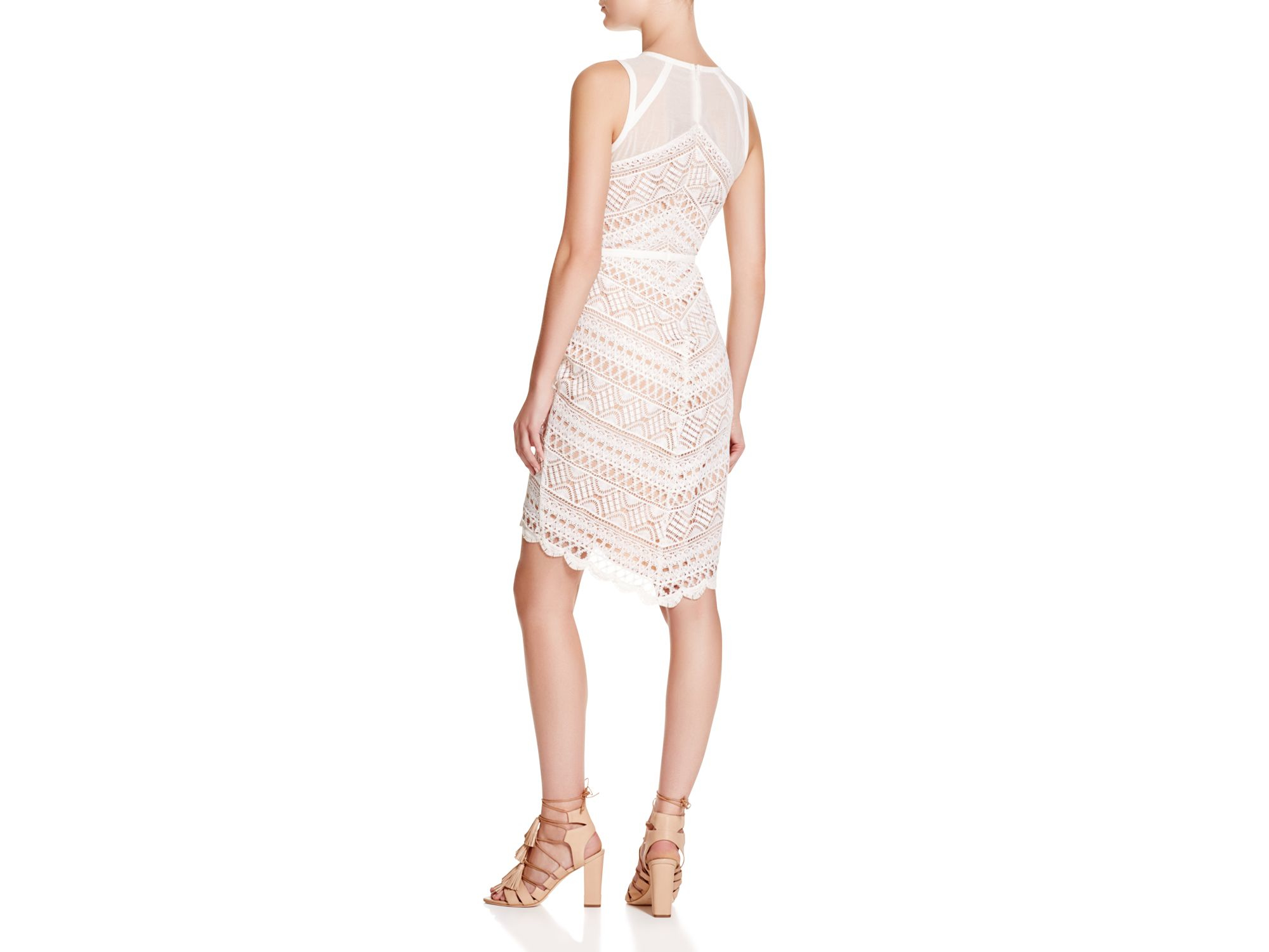 b80ad1abef619 Lyst - Adelyn Rae Lace Dress in Pink