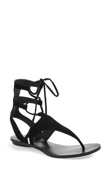 8fcd9bf1f590 Lyst - Kendall + Kylie  faris  Sandal in Black