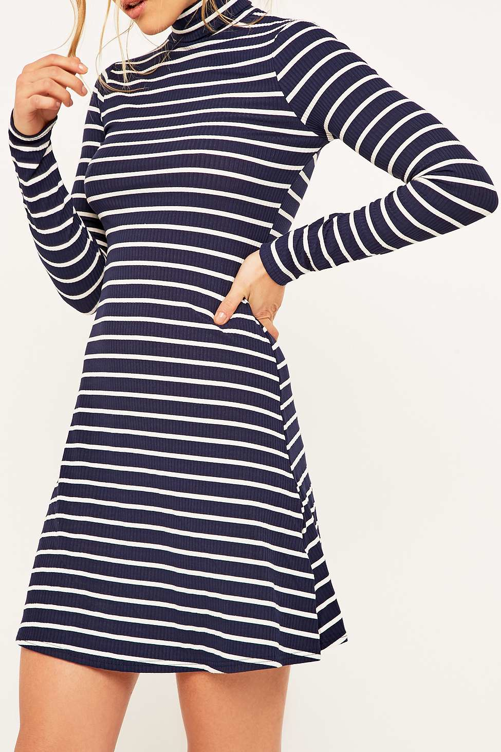 492219176a2 Striped Turtleneck Dress Manufacturers. Shop Madewell for women s jeans