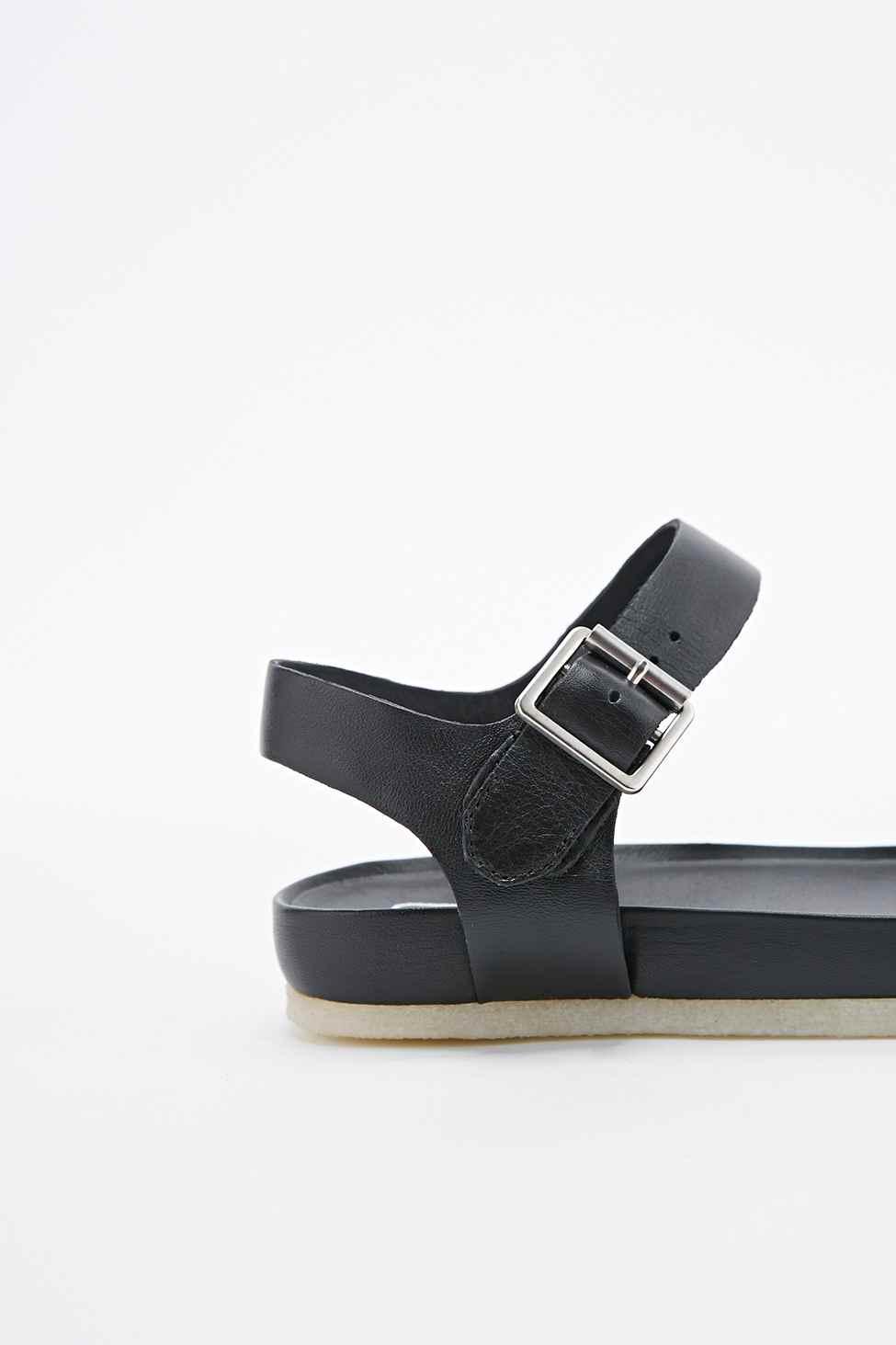 52e1e3903ca Clarks Dusty Soul Sandals In Black in Black - Lyst