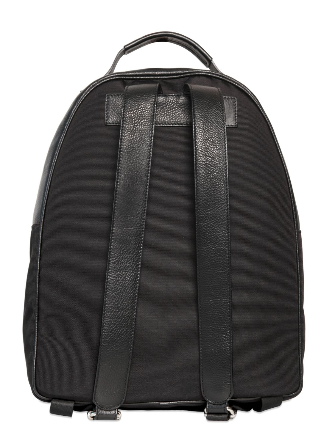 a6f01a0c3a81 Lyst - Diesel Black Gold Grained Leather Backpack in Black for Men
