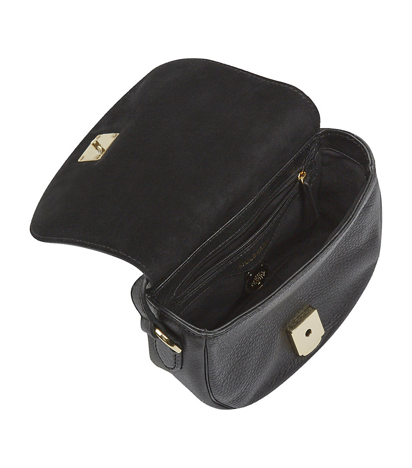 bf3cea5e89b8 ... where can i buy mulberry small tessie satchel in black lyst 10735 c7786