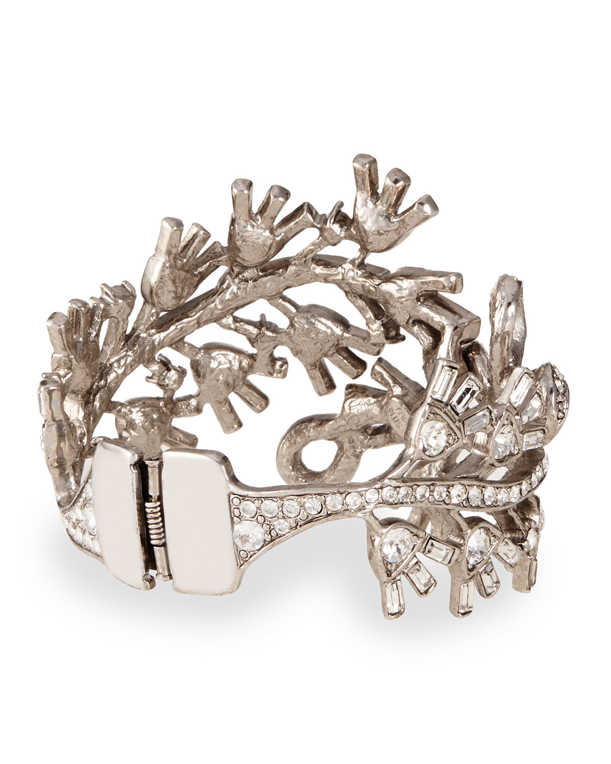 Oscar De La Renta jeweled bracelet - Metallic