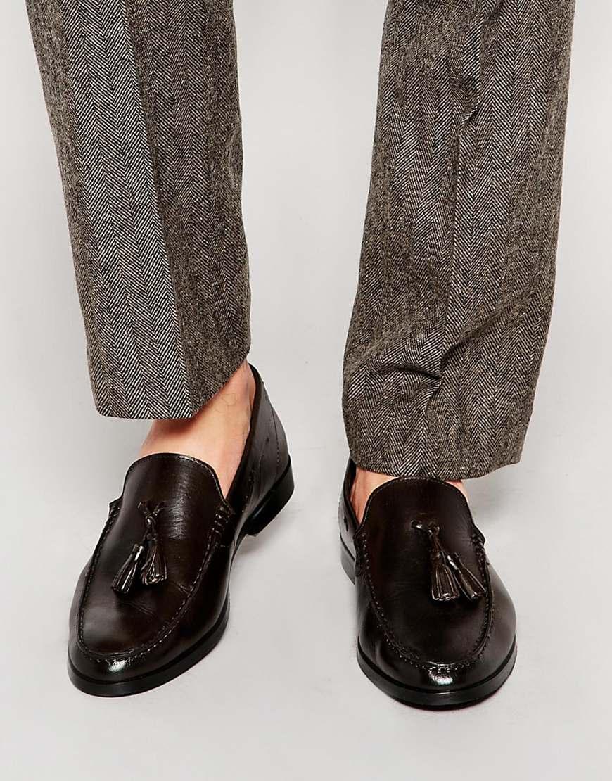 Frank Wright Tassel Loafers In Leather ZlVHOl