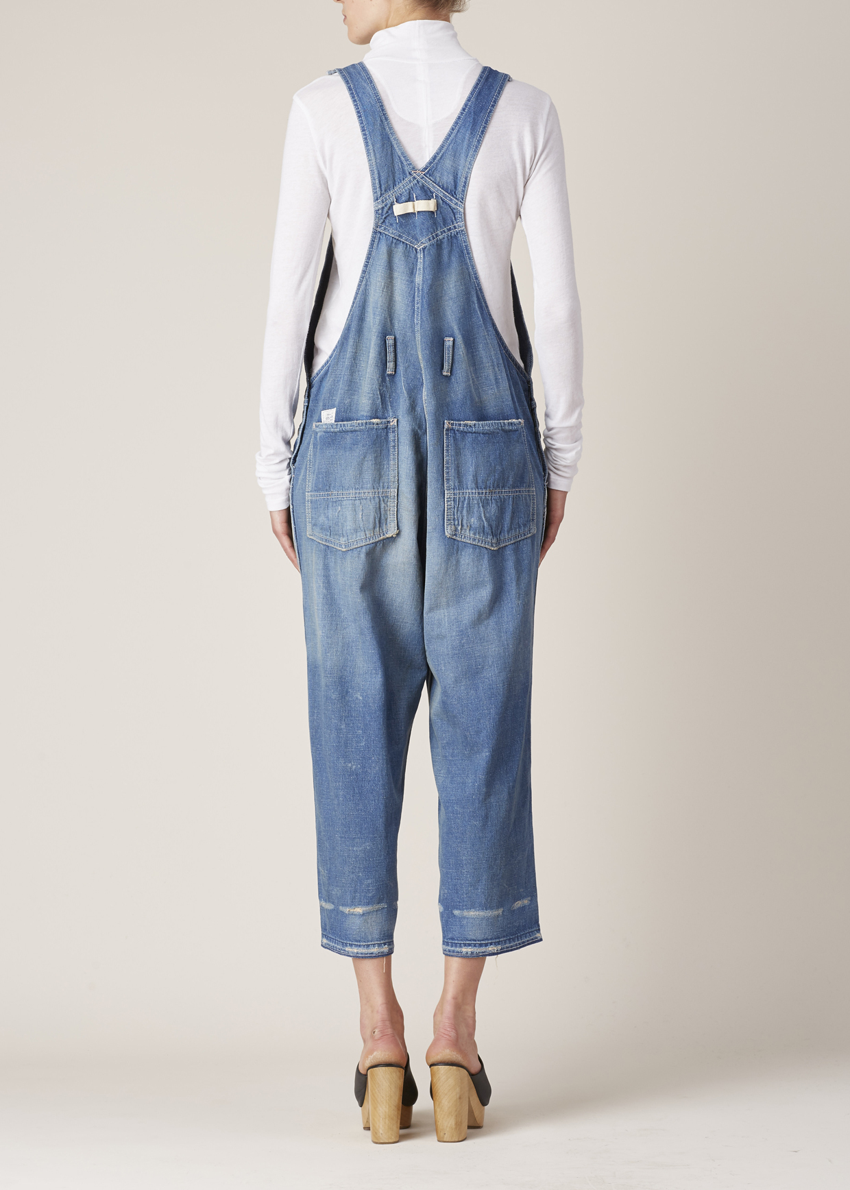 Lyst Chimala Vintage Old Denim Overall In Blue