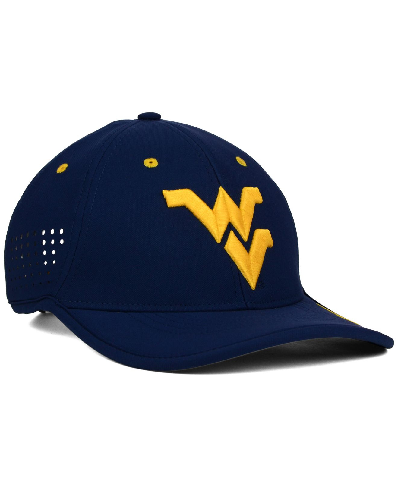 reputable site 7ea54 35c2f ... order lyst nike west virginia mountaineers dri fit coaches cap in blue  f140f 93d86
