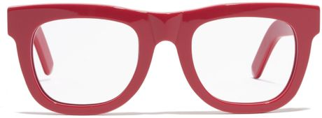 Madewell Super&Trade; Ciccio Eyeglasses in Red (diner red)