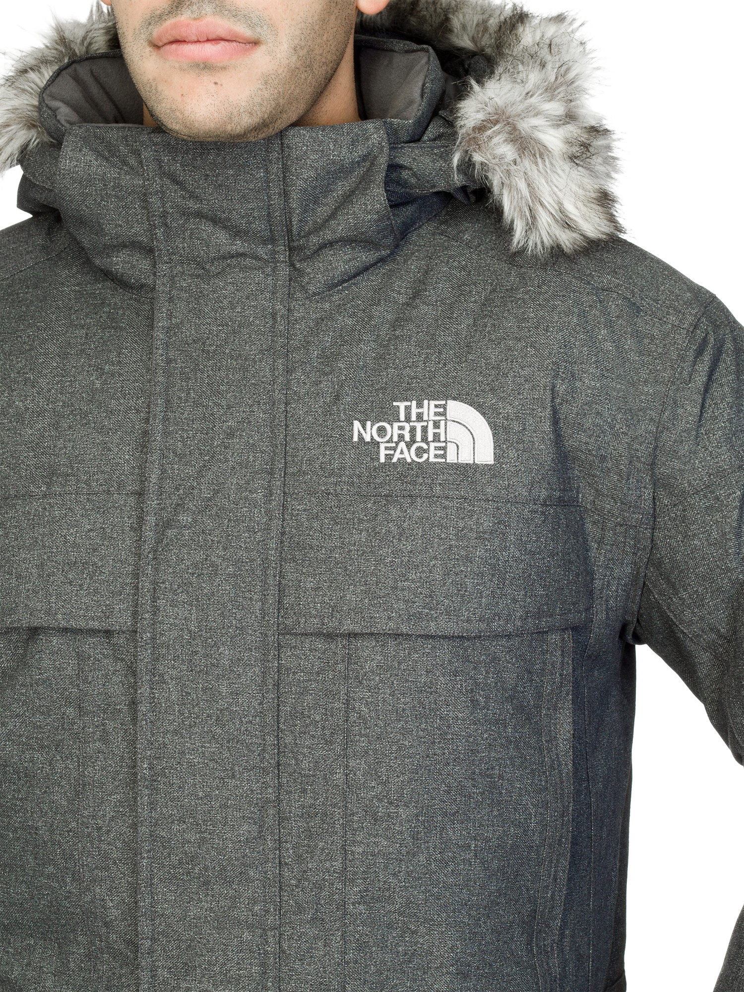 The north face Men'S Mcmurdo Parka Jacket in Gray for Men | Lyst