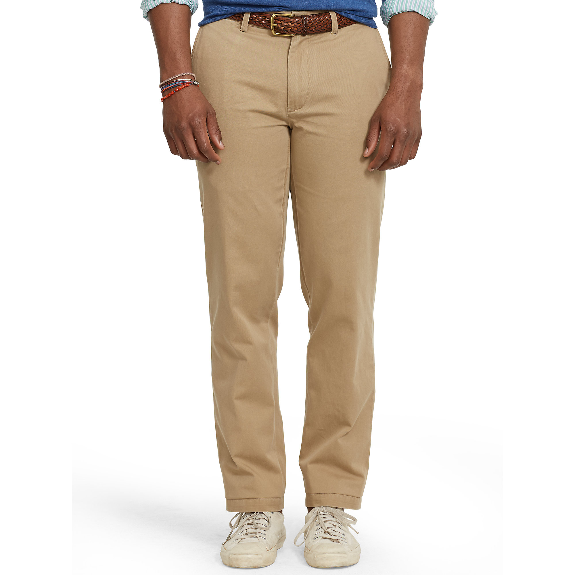 fashion styles online here browse latest collections Polo Ralph Lauren Classic-Fit Preppy Chino in Natural for ...