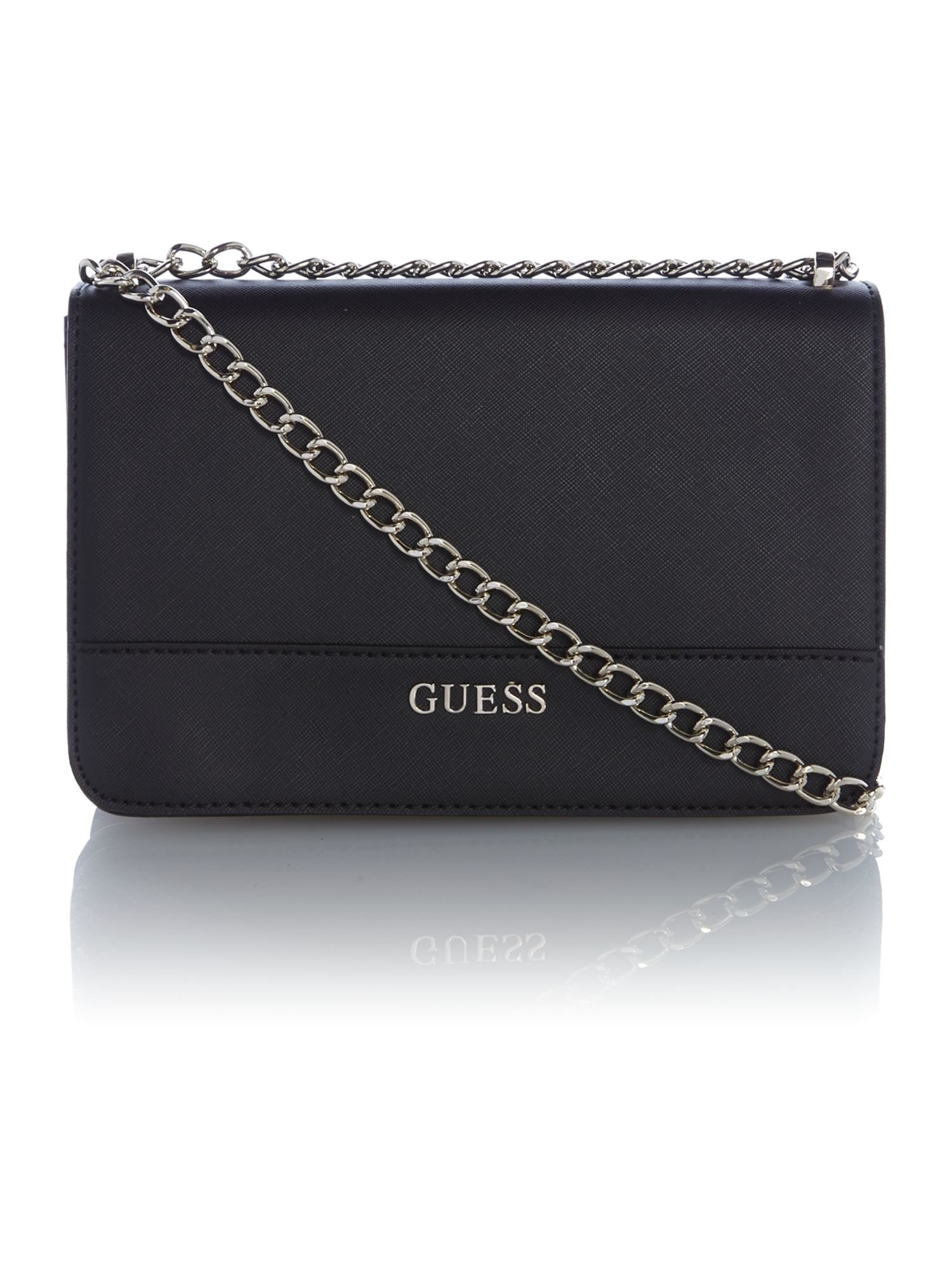 Guess Handbag Kihei Small Crossbody Flap Bag Burke Leather Totes 2b50ccabee8a3
