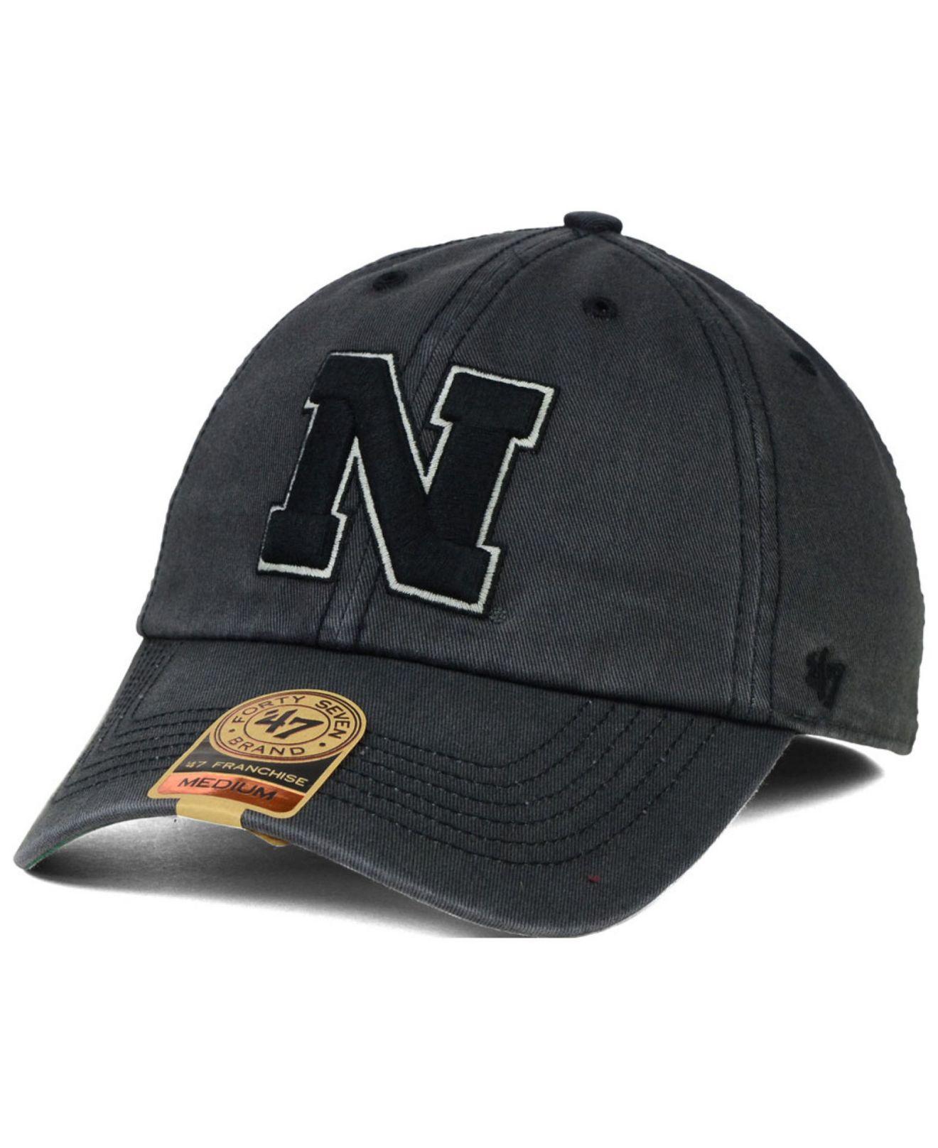 super popular b0ef5 8030c ... closeout lyst 47 brand nebraska cornhuskers sachem cap in gray for men  5d539 ba6fd