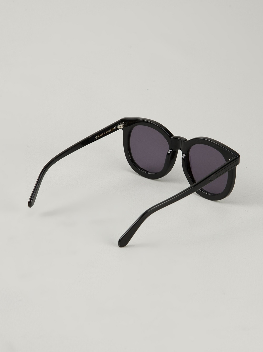 e7125abbb23 Lyst - Karen Walker  Super Worship  Sunglasses in Black