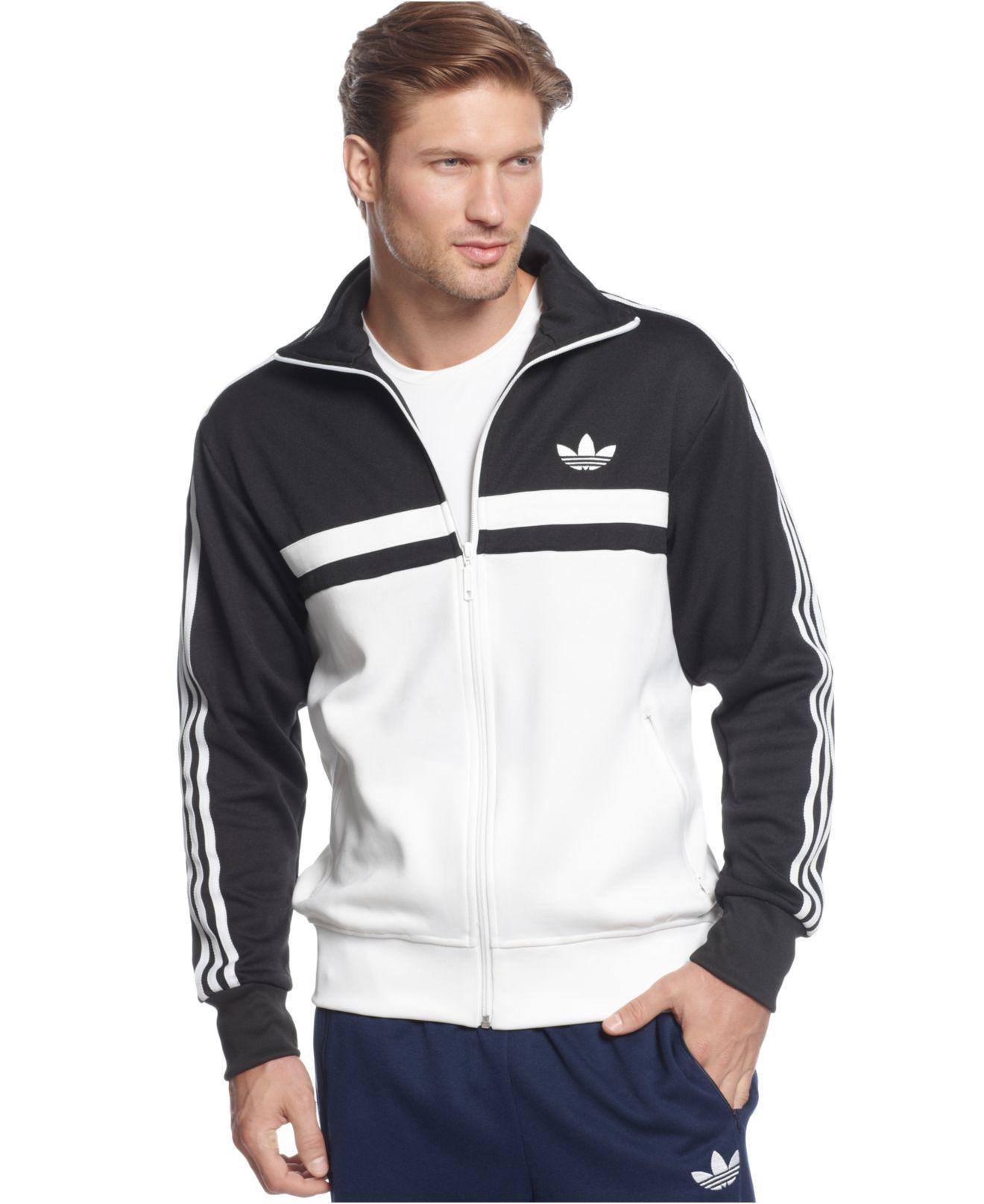 d4da60748b76 Lyst - adidas Originals Adi-Icon Track Jacket in Black for Men