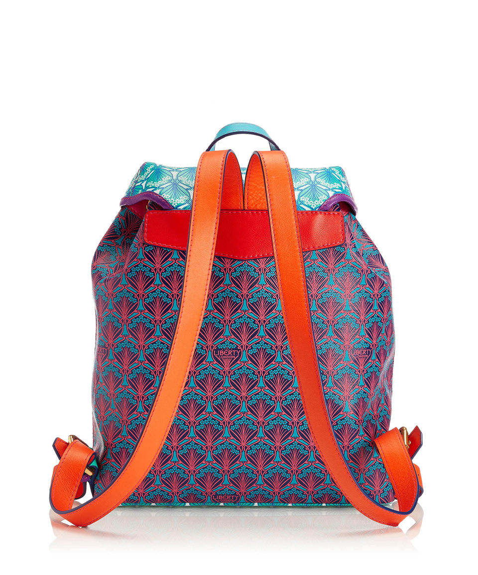 Lyst - Liberty Multicolour Iphis Patchwork Kingly Backpack