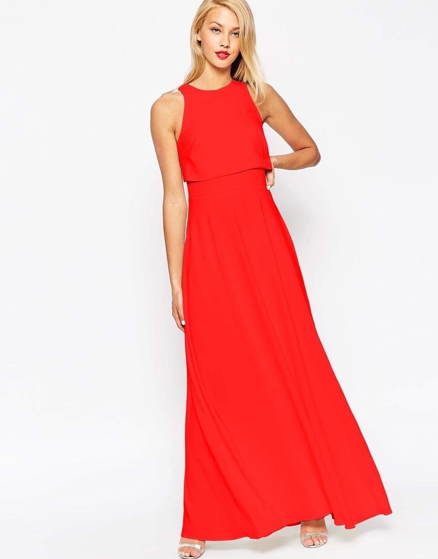 b22b6309d04 Crop Top Maxi Dress - Dress Foto and Picture