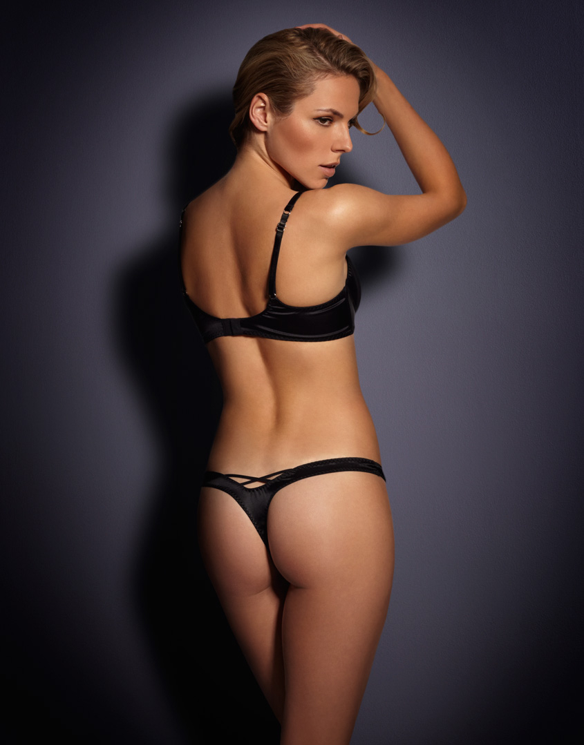 Lyst Agent Provocateur Thong In Black