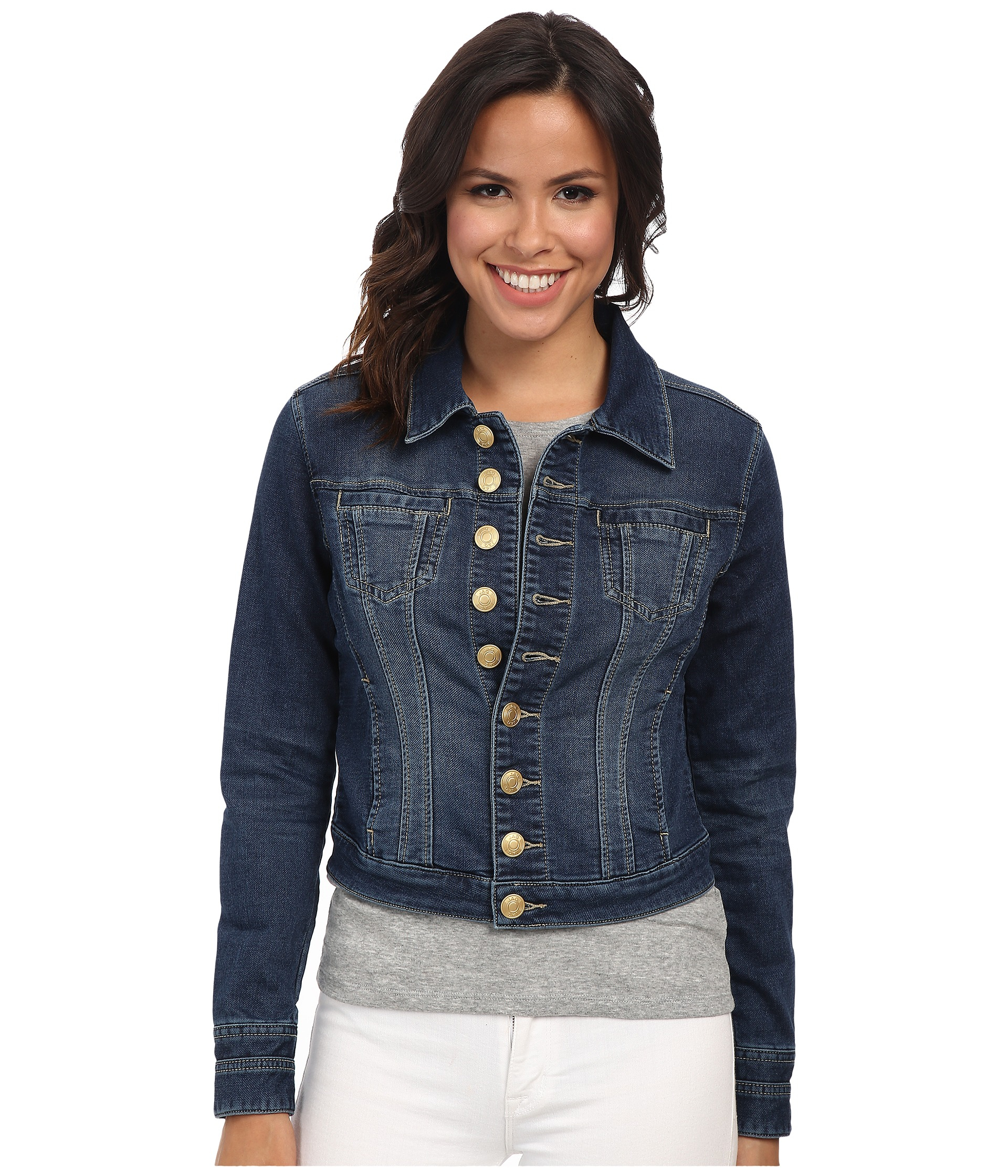 Jag jeans Savannah Jacket in Blue - Save 56% | Lyst