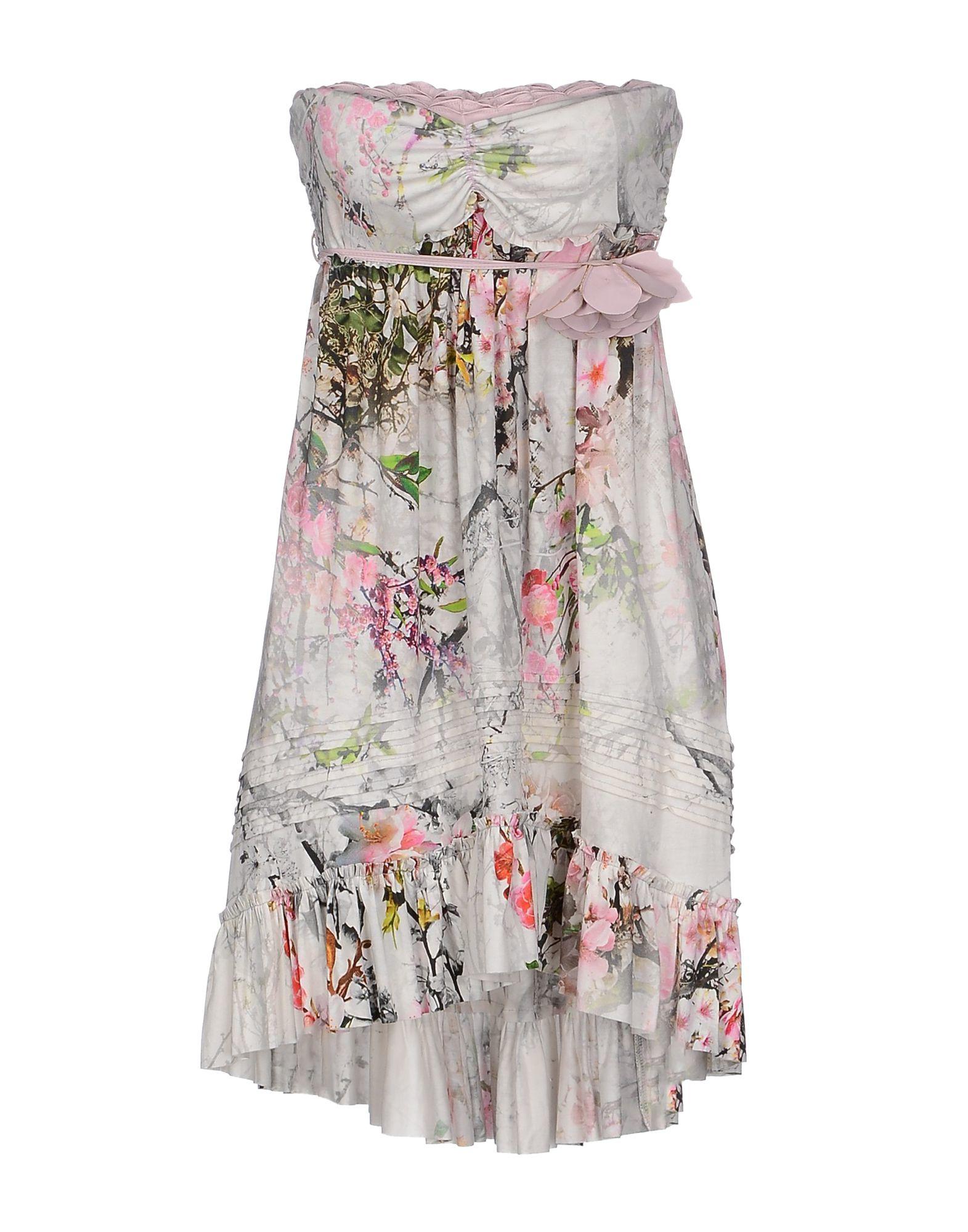 Mariagrazia Panizzi Short Dress In Pink Lyst