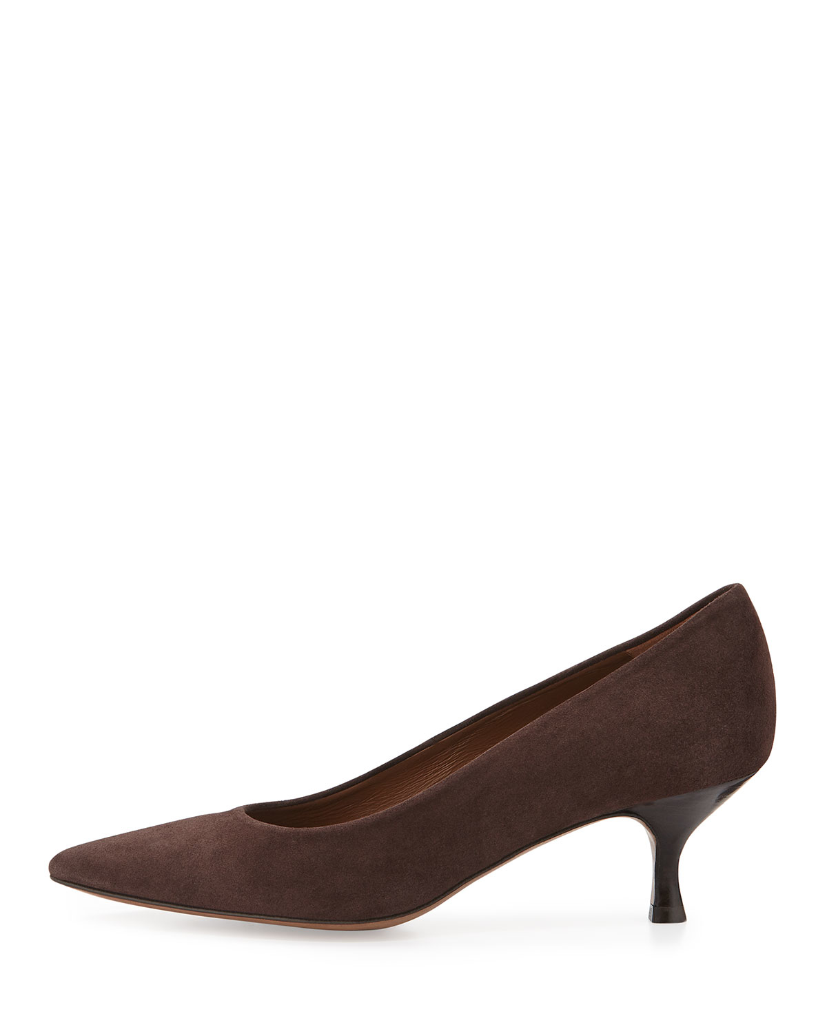 Donald J Pliner Rome Suede Pumps In Brown Lyst