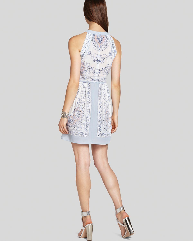 Lyst Bcbgmaxazria Bcbg Max Azria Dress Cambria Printed