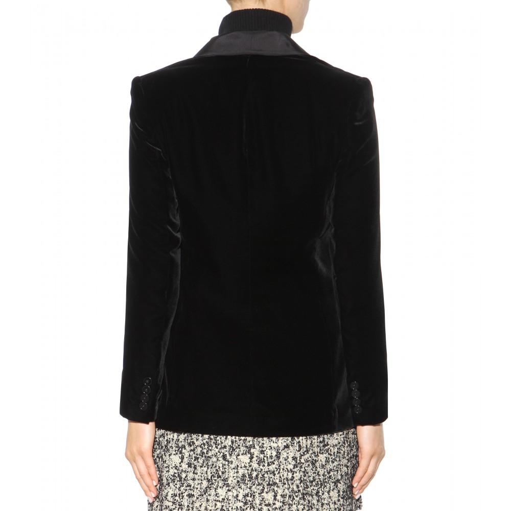 Lyst Polo Ralph Lauren Velvet Tuxedo Jacket In Black