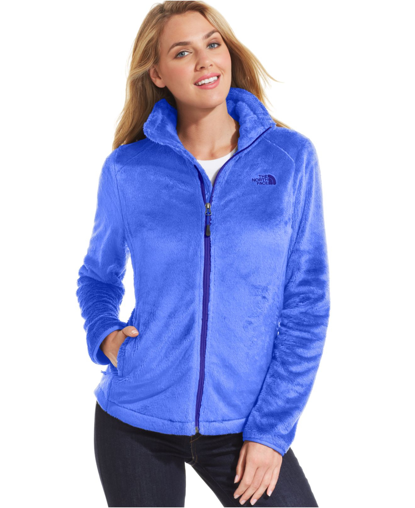 8681c0384835 Lyst - The North Face Osito 2 Fleece Jacket in Blue