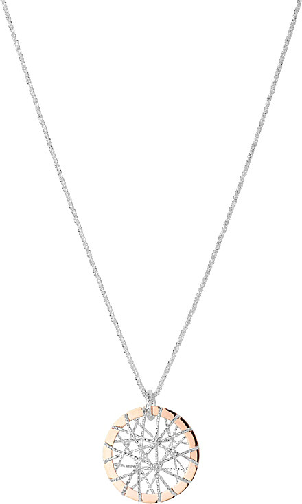 links of london dream catcher rose gold pendant in gold