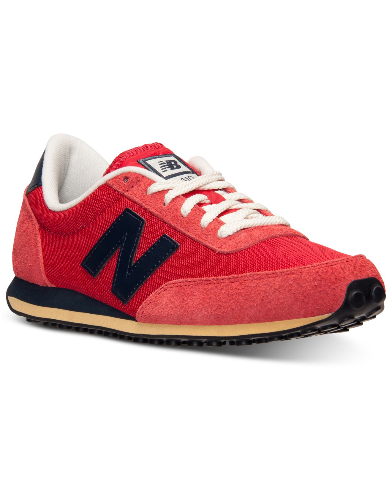 lyst new balance men 39 s 410 casual sneakers from finish. Black Bedroom Furniture Sets. Home Design Ideas