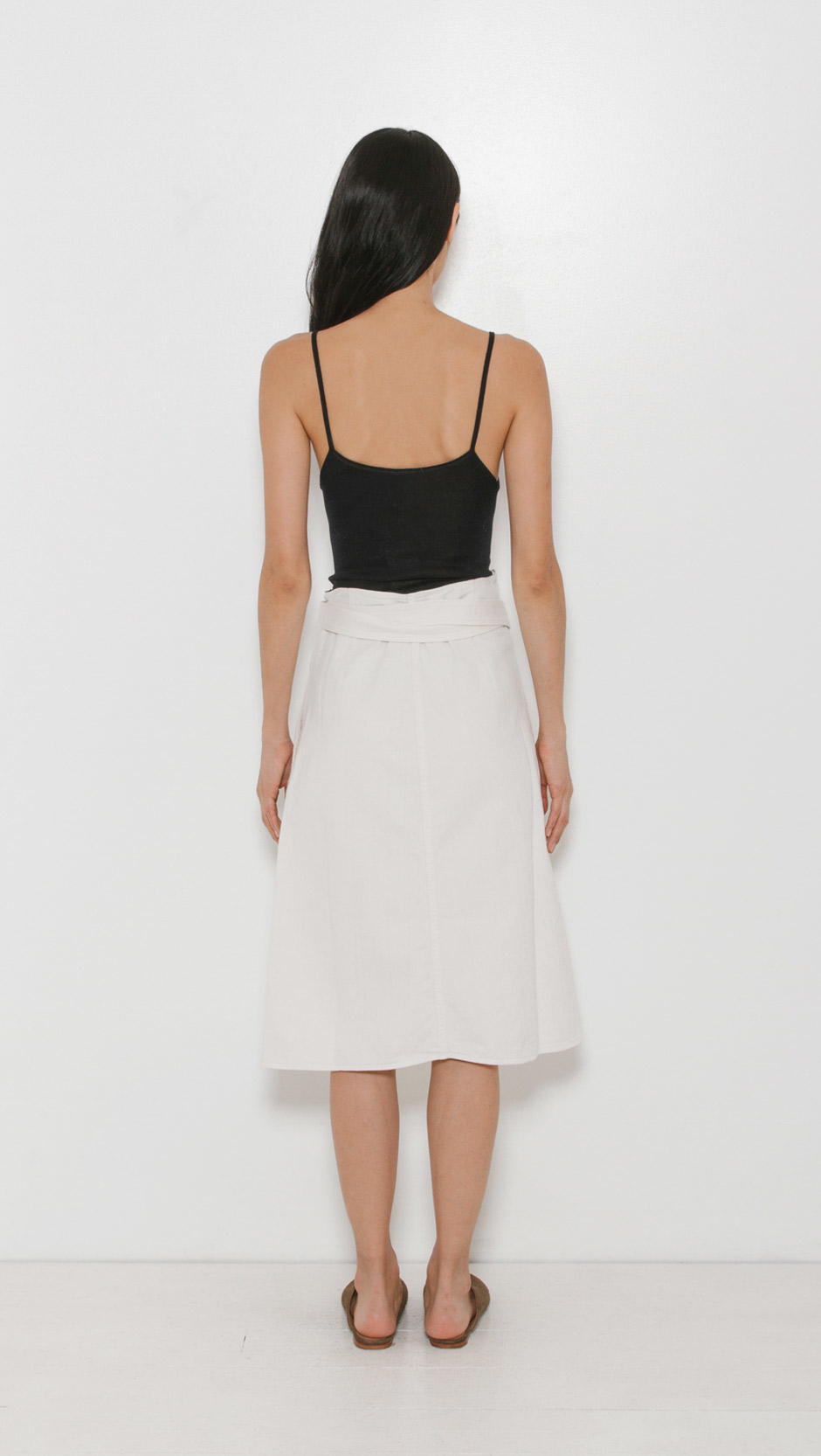 Citizens Of Humanity Donna Wrap Skirt In Natural