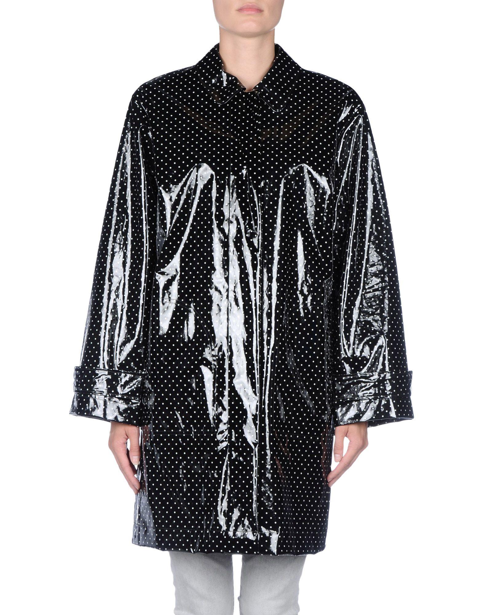 lyst dolce gabbana full length jacket in black. Black Bedroom Furniture Sets. Home Design Ideas