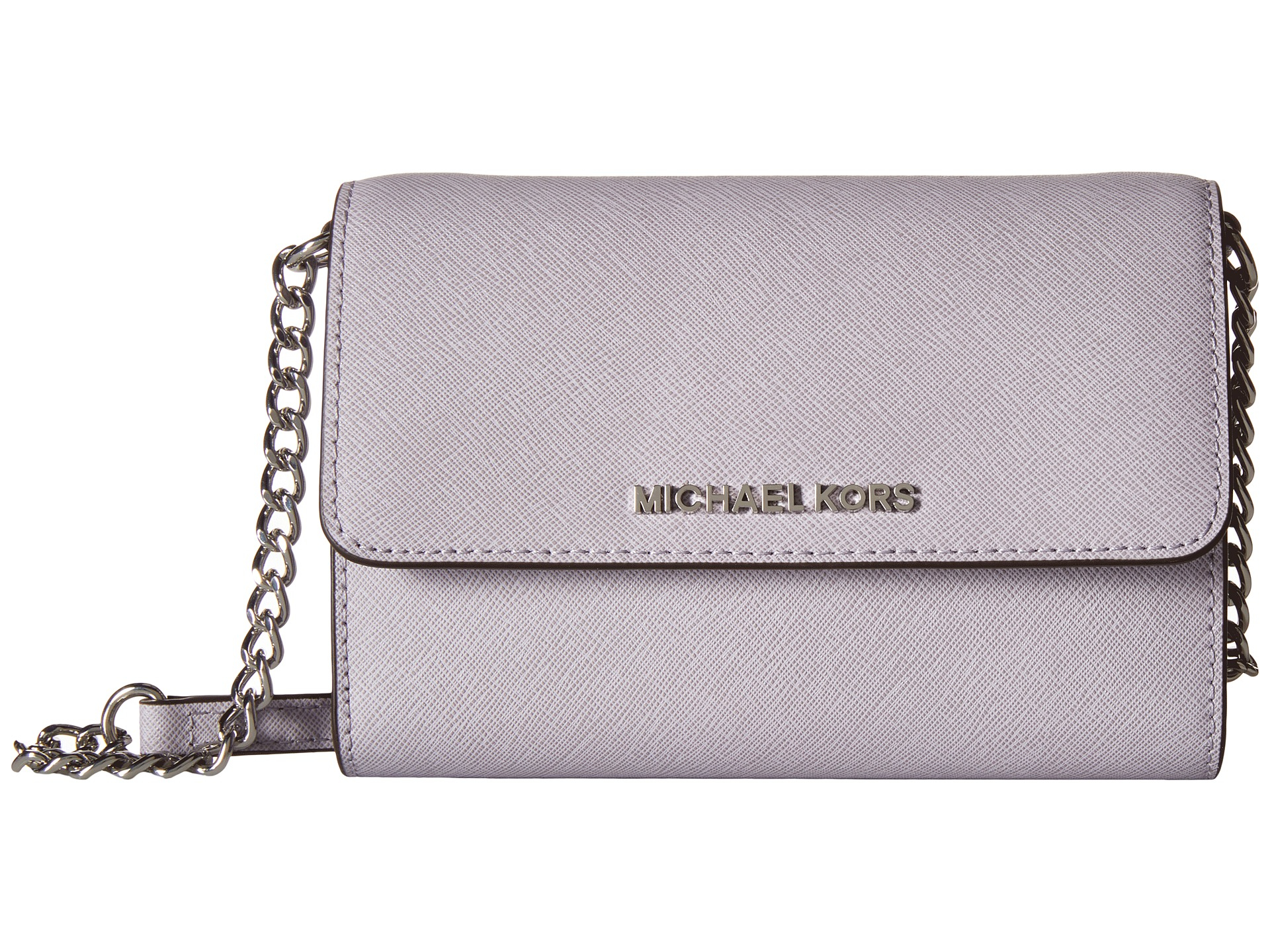 ada5eaff0 MICHAEL Michael Kors Jet Set Travel Large Phone Crossbody in Purple ...