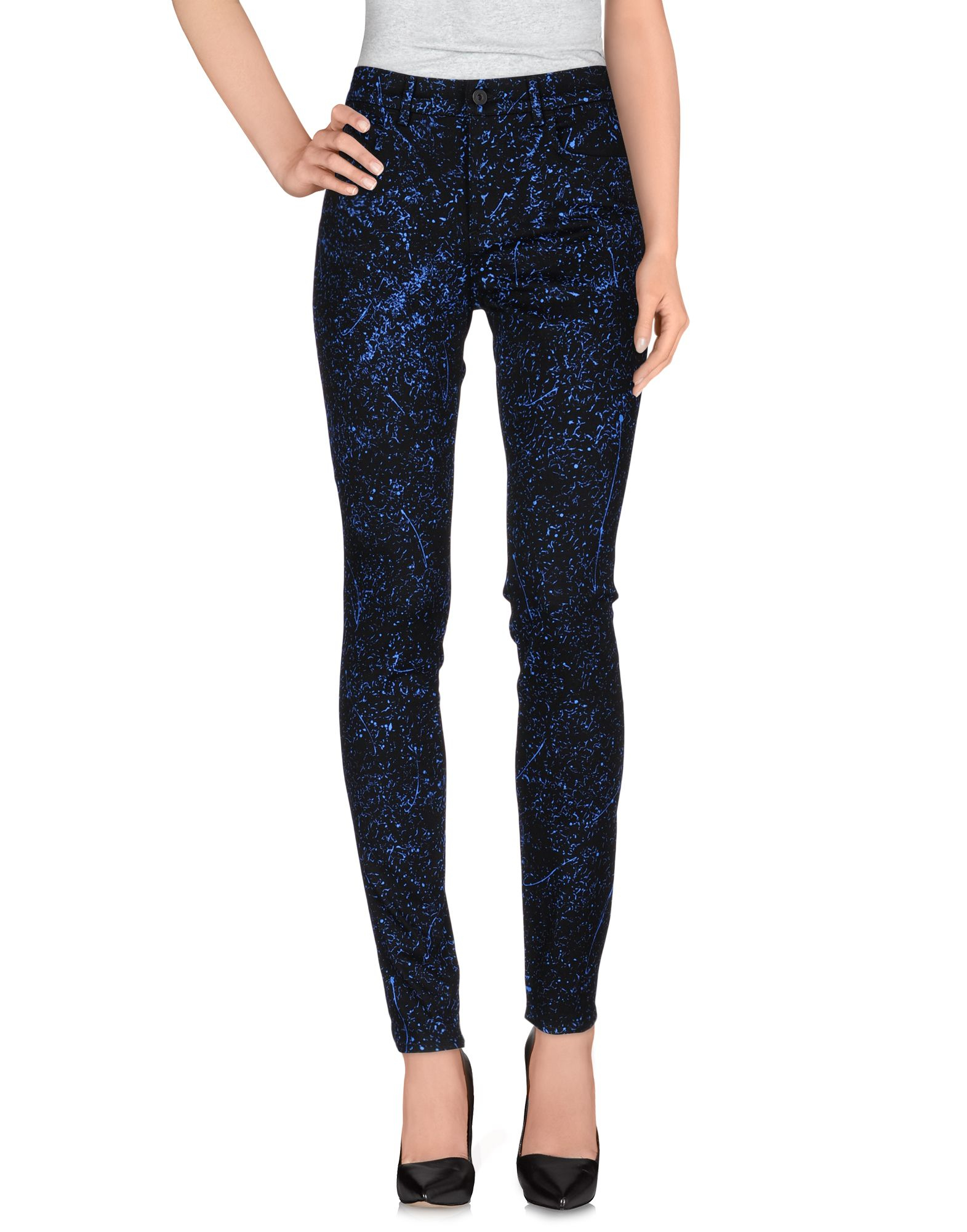 Footlocker Finishline Online Proenza Schouler Woman Cotton-chambray Straight-leg Pants Light Denim Size 0 Proenza Schouler In China Cheap Online Geniue Stockist Cheap Price afZ8A419N