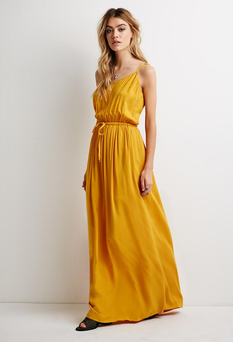 One shoulder maxi dress forever 21