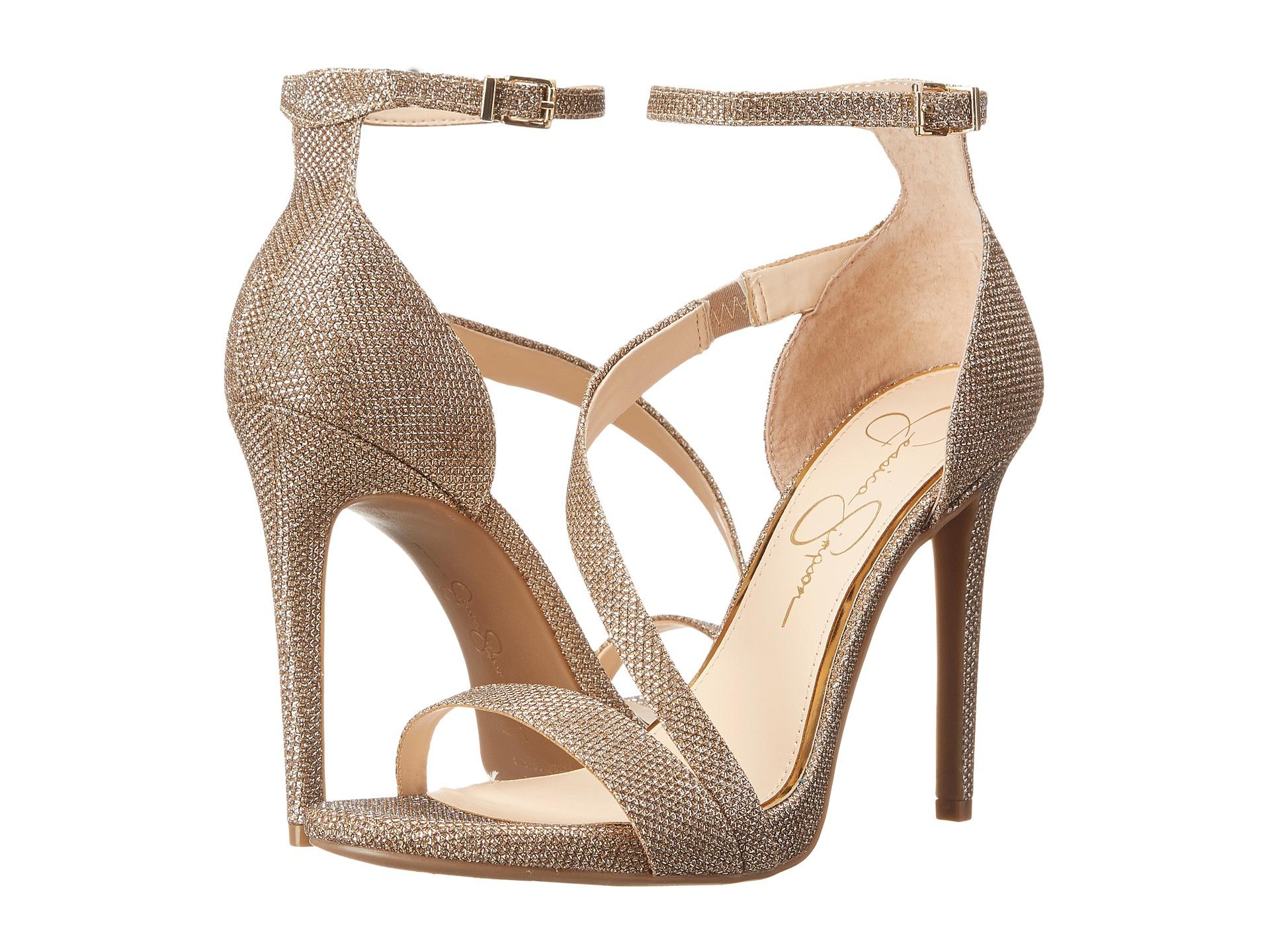 Lyst Jessica Simpson Rayli Beaded Ankle Strap Dress