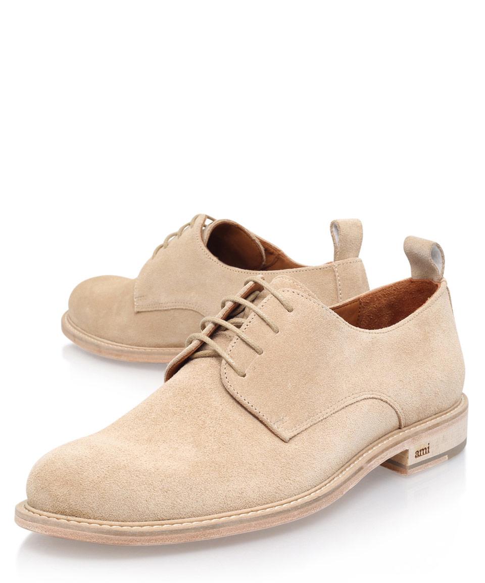 Suede derby shoes Ami EDPiJ9mZ