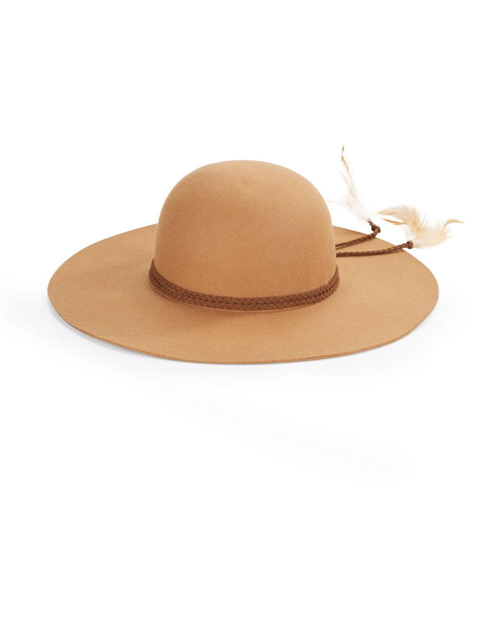 1b0aec2330524 Steve Madden Floppy Wool Hat - Lyst