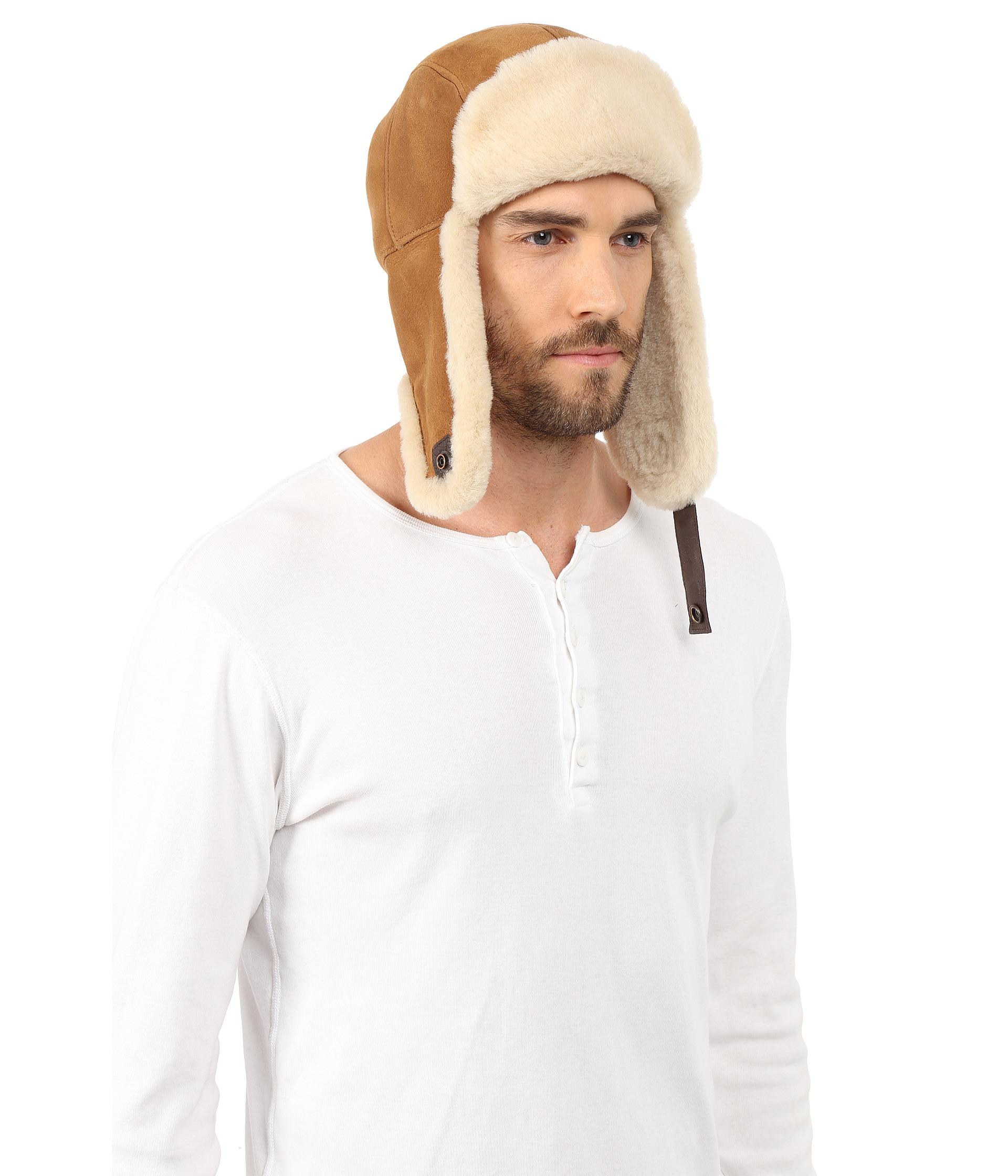 12e6b68df7af0 UGG Sheepskin Trapper in Brown for Men - Lyst