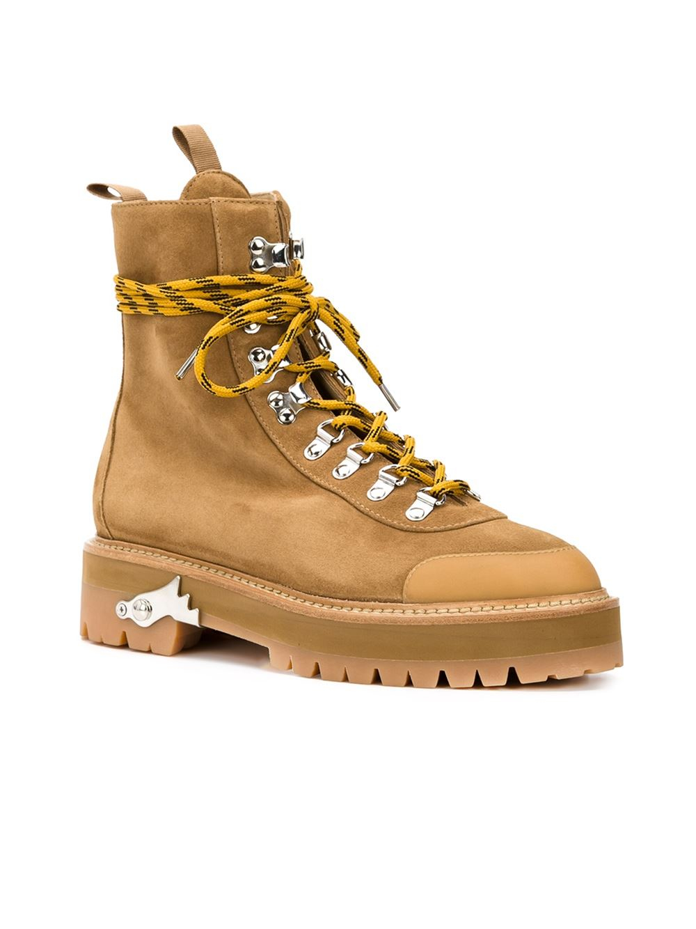 Brown Hiking Boots Off-white 100% Guaranteed Online 8hhW8S0t