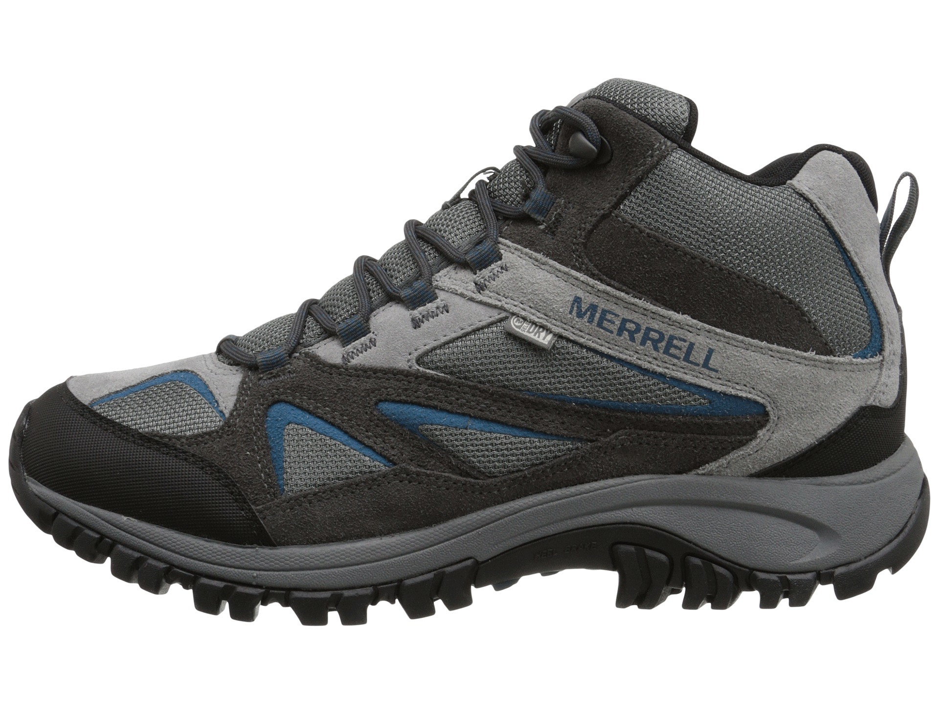 fa63fd79390 Merrell - Gray Phoenix Bluff Mid Waterproof for Men - Lyst