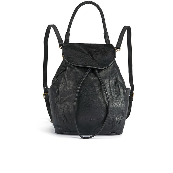 ab16a00ef790 Liebeskind Women s Ida Vintage Pony Backpack in Black - Lyst
