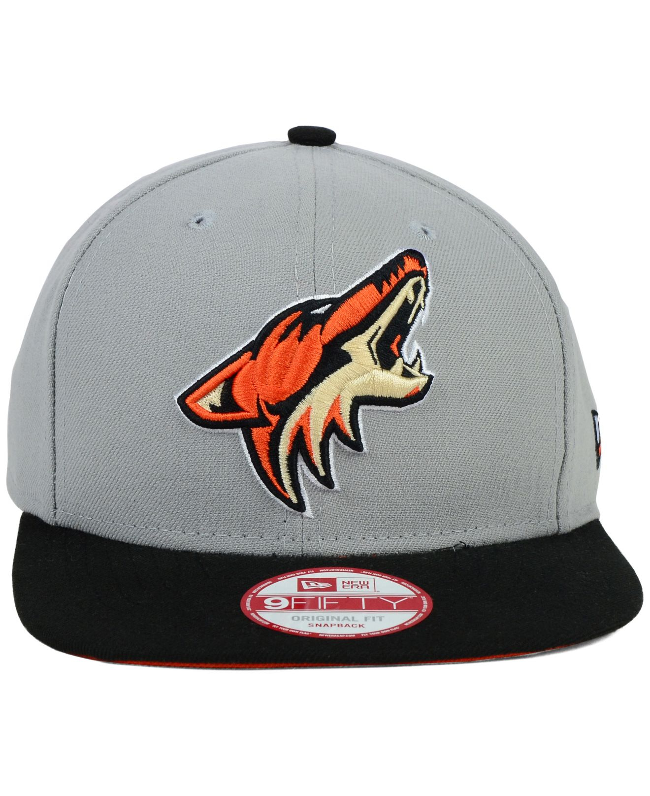 finest selection b7d58 aa55d ... hats ac110 da5d9  new style lyst ktz arizona coyotes nhl bright ice up 9fifty  snapback cap in 02e08 18f57