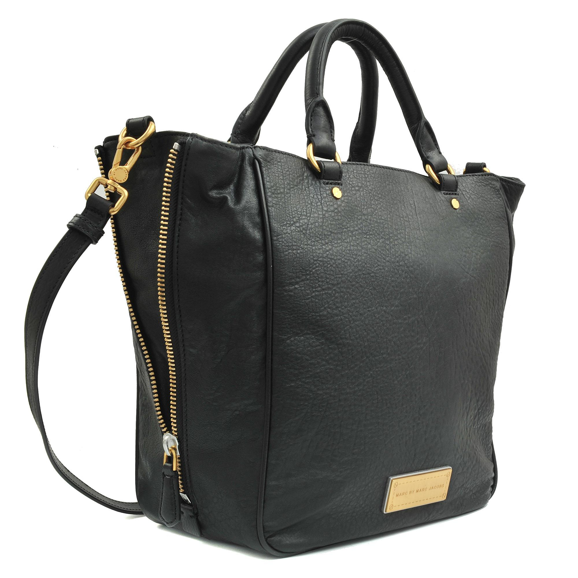 9097affa0ed Marc By Marc Jacobs Washed Up Tote Bag in Black - Lyst