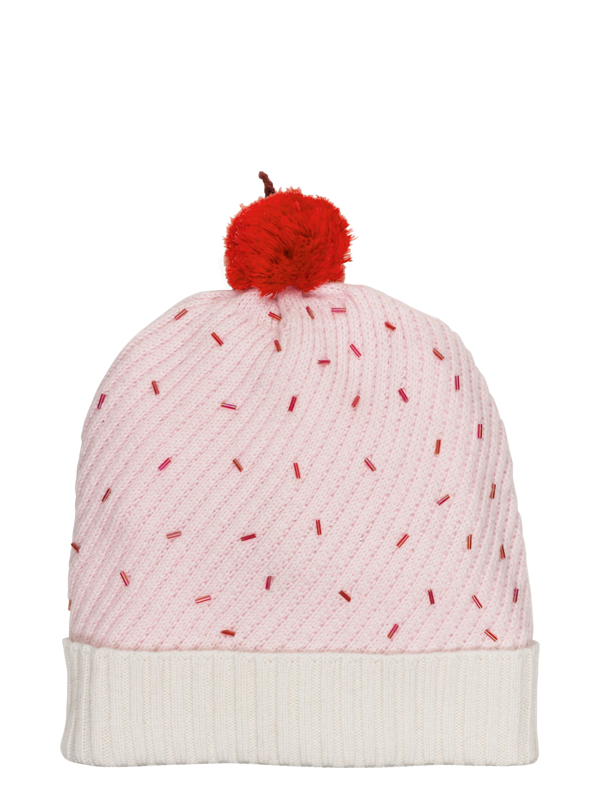 15fb39c44310d Kate Spade Cupcake Hat With Pom in Natural - Lyst